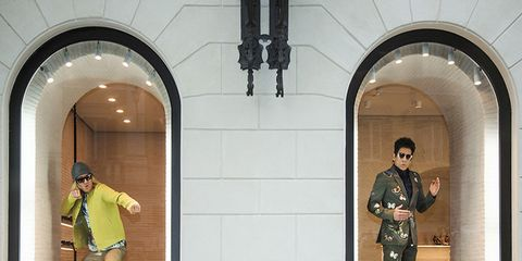 Standing, Ceiling, Arch, Light fixture, Workwear, Animation, Military uniform, Military person,