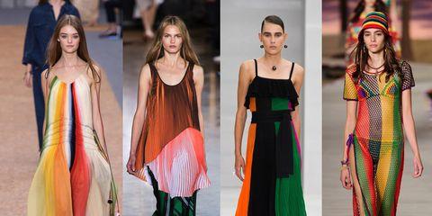 differently a8104 1fcc2 Moda primavera estate 2016: vestiti colorati e abiti cori ...