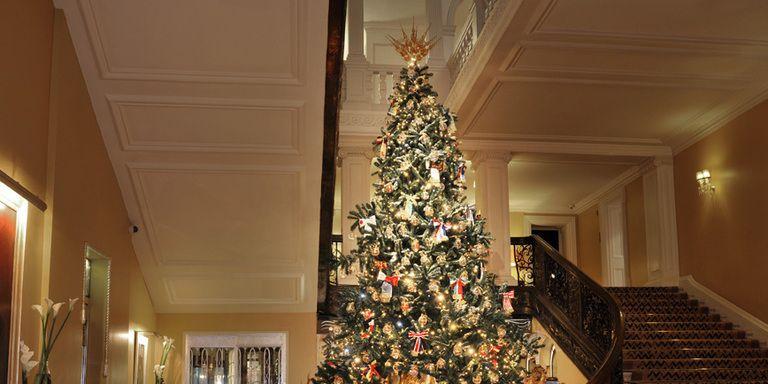 Natale 2014: Dolce & Gabbana firmano per la seconda volta l'albero di Natale dell'Hotel Claridge's di Londra