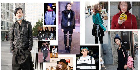 Clothing, Sleeve, Textile, Outerwear, Coat, Bag, Street fashion, Style, Collar, Jacket,
