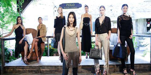 """871cccb79486 """"La donna Polo Ralph Lauren ha un attitudine sofisticata raffinata e  moderna. Non si tratta di un look solo ma di un mix eclettico"""