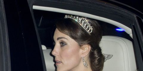 Kate Middleton ha indossato la Tiara dei Nodi d'amore appartenuta a Lady Diana
