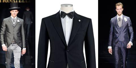 L abito dello sposo va scelto in base allo stile dell abito della sposa e  al mood che decidete di dare alle vostre nozze. Il galateo prevede alcune  regole ... 4169051a7a8