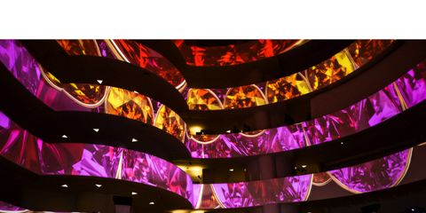 Purple, Magenta, Violet, Pink, Crowd, Lavender, Decoration, Hall, Function hall, Audience,