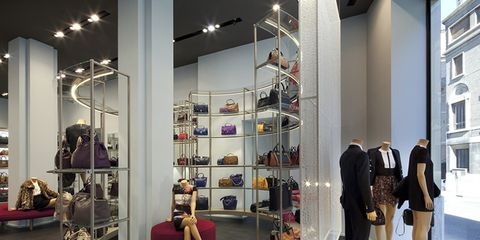 Lighting, Interior design, Shelf, Fashion, Shelving, Retail, Collection, Light fixture, Display case, Outlet store,