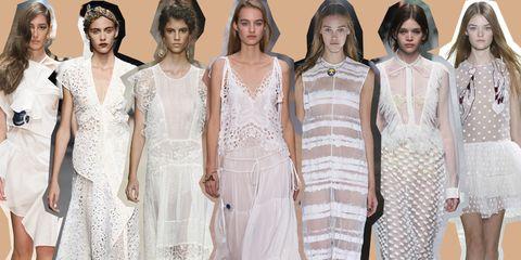 e93050f4fa61 L estate predilige il bianco! Di scena tutti i vestiti bianchi visti alle sfilate  primavera estate 2016 di New York