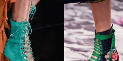 50e44787d0f58 Scarpe e stivaletti con lacci moda primavera estate 2016