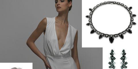 dc202c45c46c Se desiderate indossare per il giorno delle nozze un abito rigorosamente  bianco ma dalla linea minimal ed essenziale in versione dress da sera