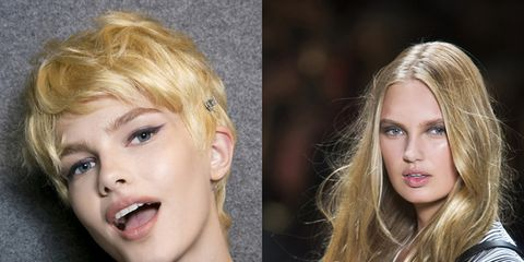 Lip, Hairstyle, Chin, Eyebrow, Style, Jaw, Eyelash, Iris, Organ, Blond,