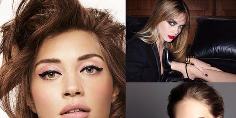 Hair, Face, Head, Nose, Lip, Eye, Hairstyle, Skin, Eyelash, Chin,