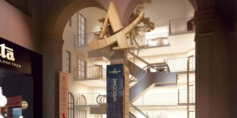 Stairs, Interior design, Floor, Interior design, Lobby, Column, Daylighting, Molding,