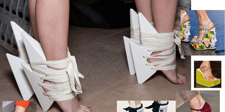 Scarpe donna. Le calzature più strane alla moda e di