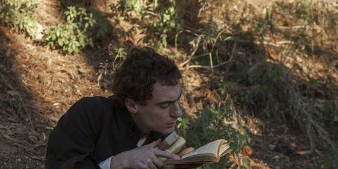 Human, Mammal, Sitting, Soil, Reading, Publication, Book,