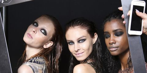 Nose, Mouth, Lip, Eye, Hairstyle, Eyebrow, Eyelash, Beauty, Black hair, Fashion,