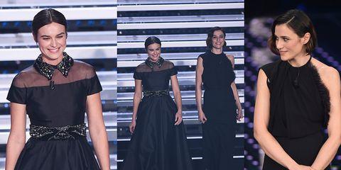 8b92a88b6b57 I vestiti e i look del Festival di Sanremo 2016