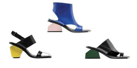 b8b511b1fd Moda primavera estate 2016: le scarpe con i tacchi scultura di Marni
