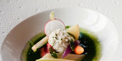 Food, Dishware, Cuisine, Tableware, Serveware, Dish, Ingredient, Garnish, Culinary art, Plate,