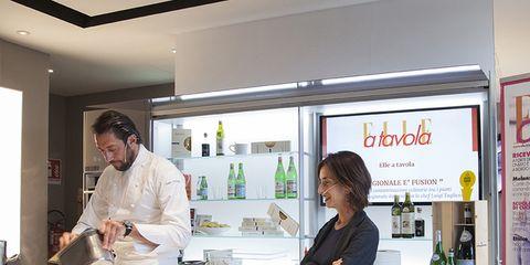 Lezioni di cucina a Expo con Elle Cucina: il regionale è fusion