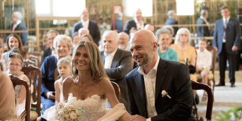 Real wedding: prima in atelier, poi a Palazzo Reale