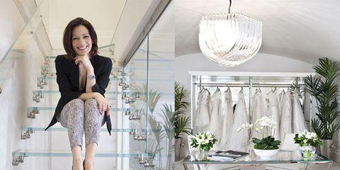 Alessandra Rinaudo: l'intervista alla direttrice creativa di Nicole Fashion Group nel suo atelier di abiti da sposa a Milano