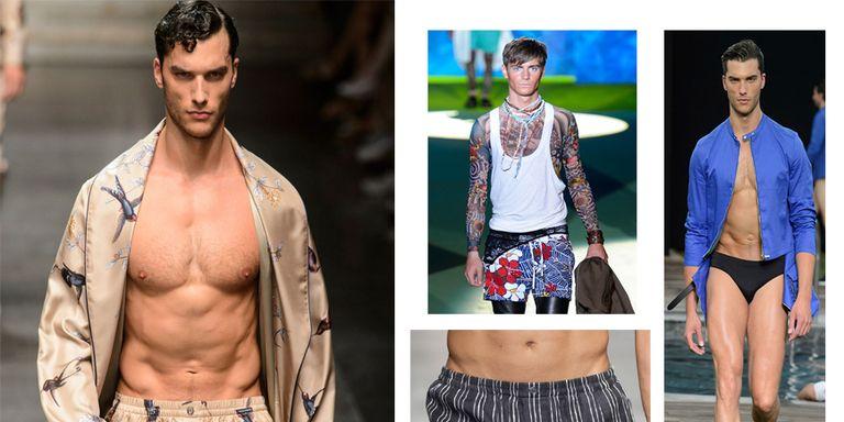 Costumi da bagno Uomo: boxer da mare, slip, a calzoncini da surf o ...