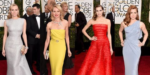 Clothing, Dress, Yellow, Flooring, Event, Shoulder, Red, Joint, Carpet, Outerwear,