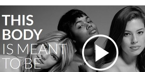 L'America blocca le modelle curvy, tra cui Ashley Graham. Ecco il video che non vedrete mai