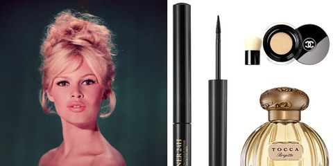 Hairstyle, Joint, Style, Perfume, Eyelash, Blond, Day dress, Makeover, Hair coloring, Bottle,
