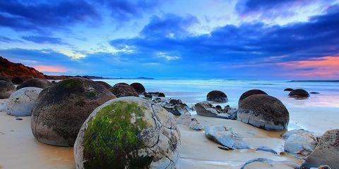 Cloud, Rock, Coastal and oceanic landforms, Shore, Coast, Beach, Ocean, Boulder, Sand, Island,
