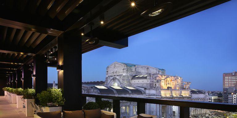 La nuova Terrazza dell\'Hotel Gallia