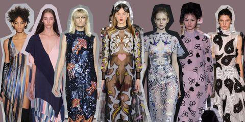 7d9dfe38233b 50 vestiti dalla settimana della moda di Londra autunno inverno 2016-2017.  In questa iper frenetica era digitale la London Fashion Week è l emblema ...