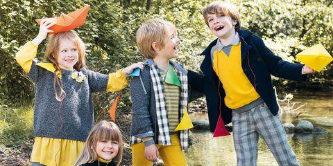 """d1e5e1e052f0c8 Bambini vestiti da bambini"""" per un autunno 2013 firmato Il Gufo"""