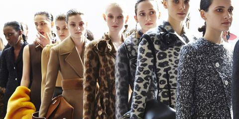 Style, Fashion model, Fashion, Bag, Waist, Street fashion, Model, Fashion design, Natural material, Fur,