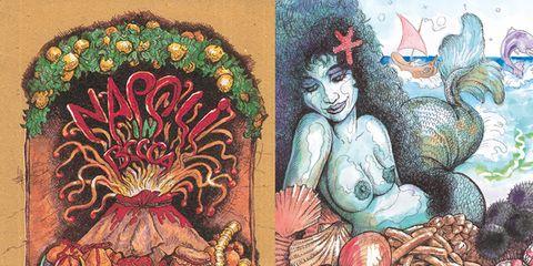 Art, Illustration, Artwork, Painting, Mythology, Drawing, Fruit, Egg, Fictional character, Art paint,