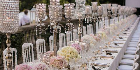 Tablecloth, Dishware, Stemware, Glass, Pink, Drinkware, Tableware, Serveware, Linens, Decoration,