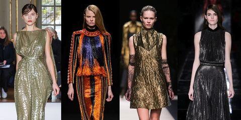 Clothing, Footwear, Dress, Fashion show, Style, Formal wear, Fashion model, One-piece garment, Fashion, Runway,