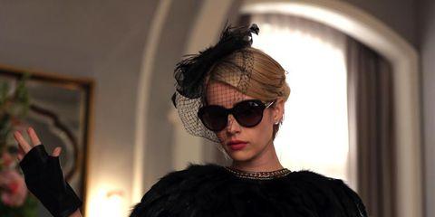 Eyewear, Shoulder, Sunglasses, Goggles, Fashion accessory, Fashion, Fashion model, Street fashion, Fashion design, Earrings,