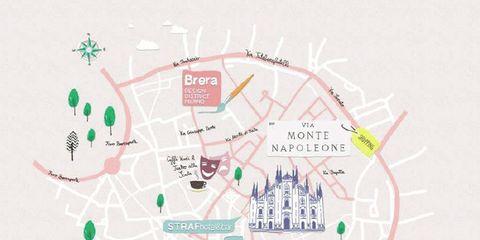10 indirizzi di stile a Milano