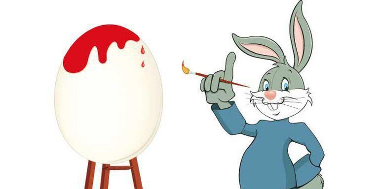 Immagini di pasqua e disegni a coniglietto pasquale da - Lettere stampabili del coniglietto di pasqua ...