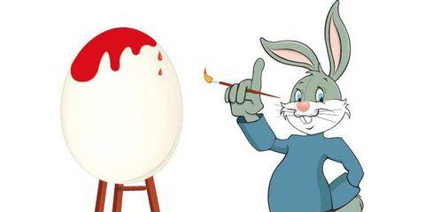 Immagini Di Pasqua E Disegni A Coniglietto Pasquale Da Colorare Come