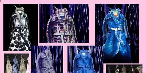 Blue, Sleeve, Textile, Pattern, Purple, Collar, Electric blue, Formal wear, Cobalt blue, Fashion,