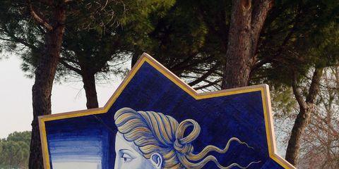 Tree, Paint, Art, Majorelle blue, Trunk, Visual arts, Painting, Watercolor paint, Illustration, Art paint,