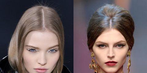 Nose, Lip, Mouth, Hairstyle, Chin, Eyelash, Eyebrow, Style, Beauty, Eye shadow,