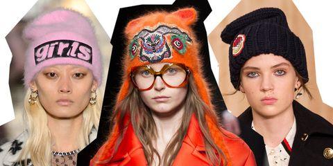 Moda autunno inverno 2016 - 2017  di tendenza il cappello di lana e88443a7f2e2