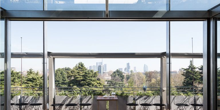 Osteria con vista sulla Terrazza della Triennale di Milano