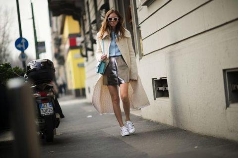Outerwear, Sunglasses, Street, Street fashion, Automotive lighting, Motorcycle, Bag, Auto part, Goggles, Snapshot,