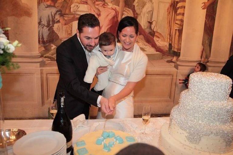 Auguri Di Matrimonio E Battesimo : Battesimo e matrimonio a sorpresa per silvia de domenico e