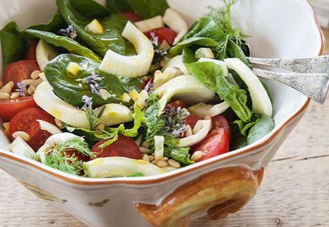 Food, Produce, Ingredient, Vegetable, Salad, Leaf vegetable, Cuisine, Vegan nutrition, Tableware, Dishware,