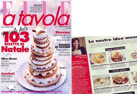 Elle cucina: è in edicola il numero di dicembre/gennaio