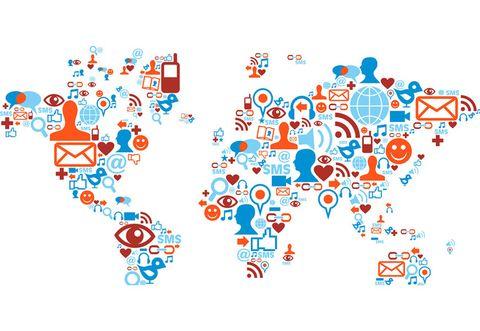 Blue, Orange, Font, Colorfulness, Graphics, Graphic design, Circle, Symbol, Illustration,